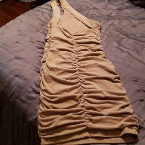 Beige bebe dress